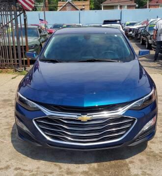 2019 Chevrolet Malibu for sale at Gus's Used Auto Sales in Detroit MI