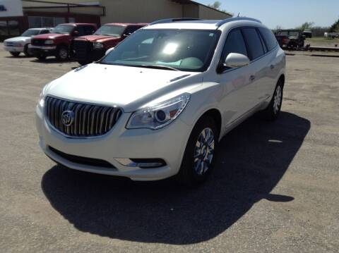2015 Buick Enclave for sale at Melton Chevrolet in Belleville KS