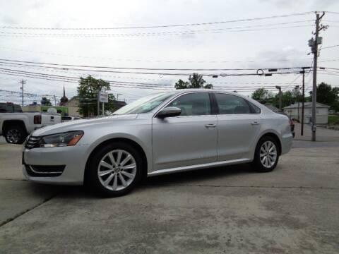 2012 Volkswagen Passat for sale at Ingram Motor Sales in Crossville TN