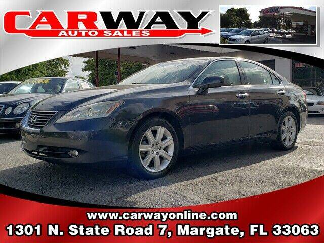 2008 Lexus ES 350 for sale at CARWAY Auto Sales in Margate FL