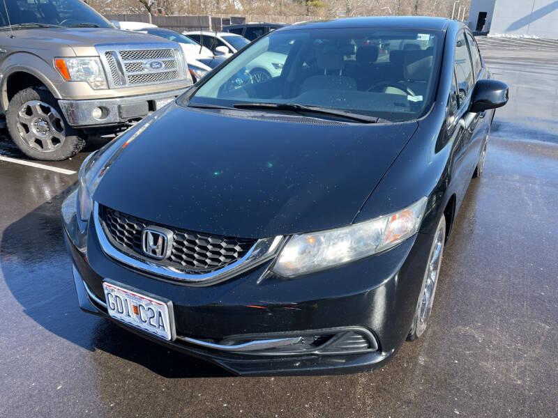 2013 Honda Civic for sale at Best Deal Motors in Saint Charles MO