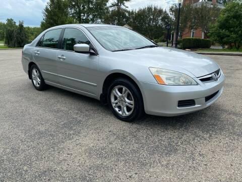 2006 Honda Accord for sale at 62 Motors in Mercer PA