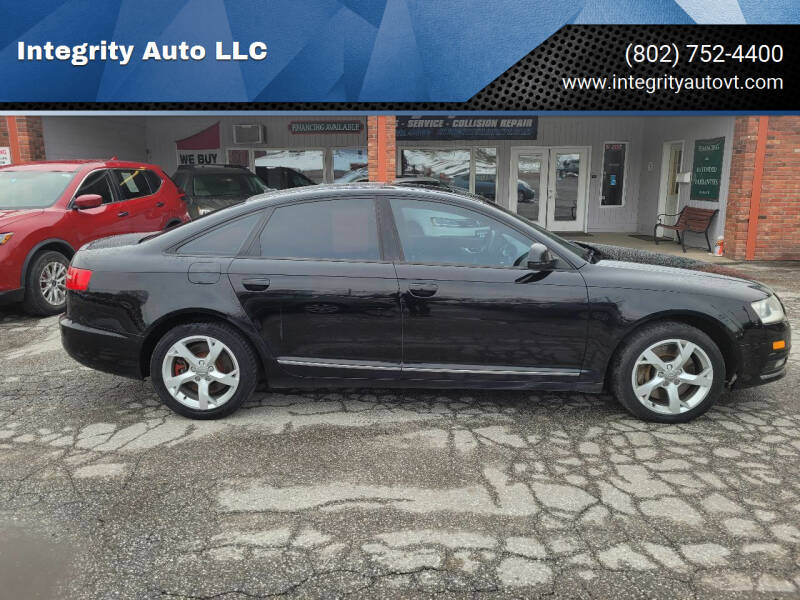 2009 Audi A6 for sale at Integrity Auto LLC - Integrity Auto 2.0 in St. Albans VT
