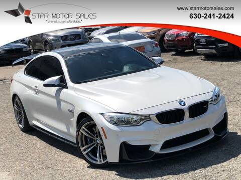 2015 BMW M4 for sale at Star Motor Sales in Downers Grove IL