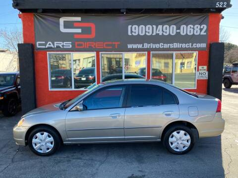 2003 Honda Civic for sale at Cars Direct in Ontario CA
