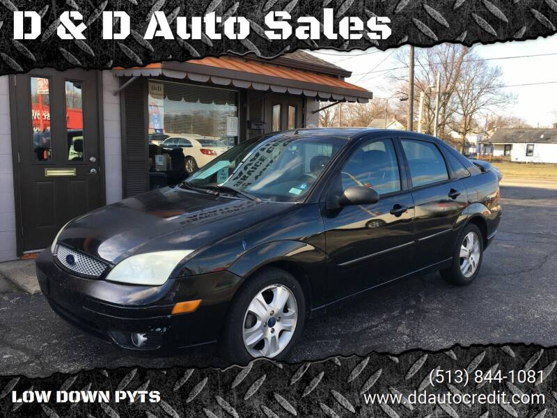 2006 Ford Focus for sale at D & D Auto Sales in Hamilton OH