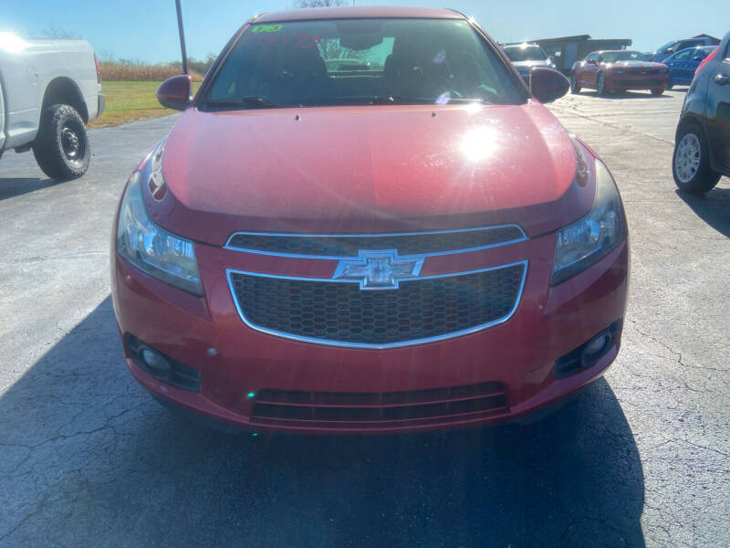 2013 Chevrolet Cruze for sale at EAGLE ONE AUTO SALES in Leesburg OH