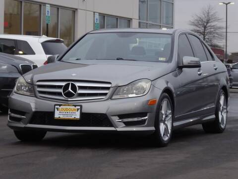 2012 Mercedes-Benz C-Class for sale at Loudoun Used Cars - LOUDOUN MOTOR CARS in Chantilly VA