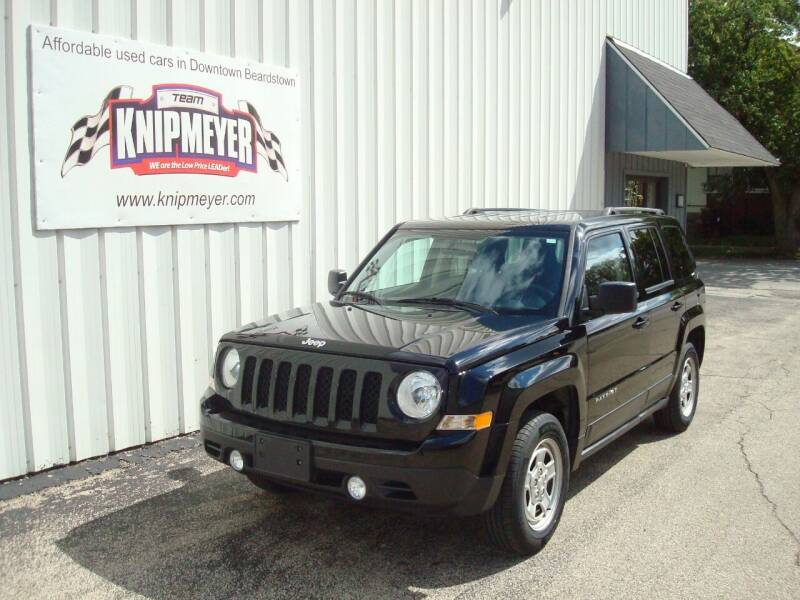 2016 Jeep Patriot for sale at Team Knipmeyer in Beardstown IL