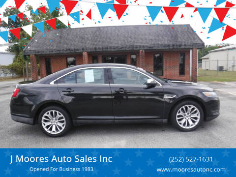 2015 Ford Taurus for sale at J Moores Auto Sales Inc in Kinston NC