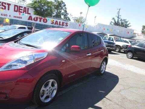 2011 Nissan LEAF for sale at Best Deal Auto Sales in Stockton CA