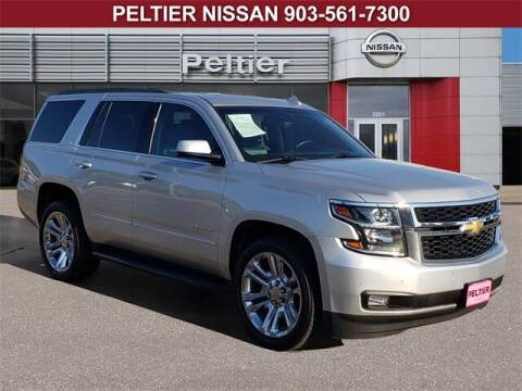 2017 Chevrolet Tahoe for sale at TEX TYLER Autos Cars Trucks SUV Sales in Tyler TX