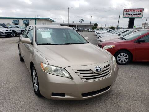 2008 Toyota Camry for sale at Jamrock Auto Sales of Panama City in Panama City FL