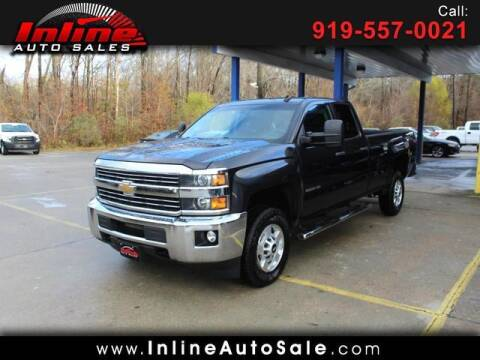 2015 Chevrolet Silverado 2500HD for sale at Inline Auto Sales in Fuquay Varina NC
