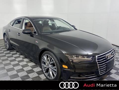2017 Audi A7 for sale at CU Carfinders in Norcross GA