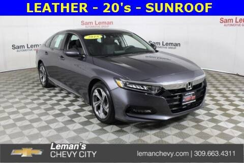 2018 Honda Accord for sale at Leman's Chevy City in Bloomington IL