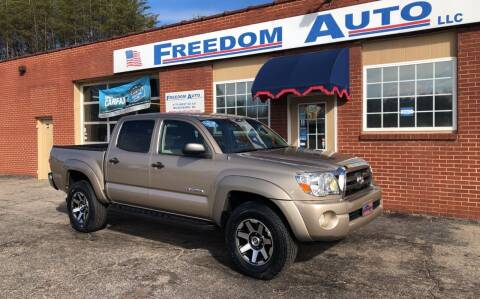 2007 Toyota Tacoma for sale at FREEDOM AUTO LLC in Wilkesboro NC
