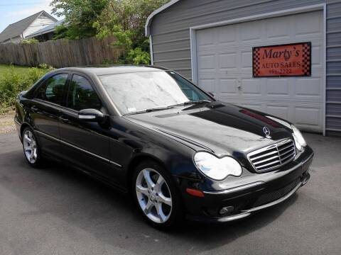 2007 Mercedes-Benz C-Class for sale at Marty's Auto Sales in Lenoir City TN