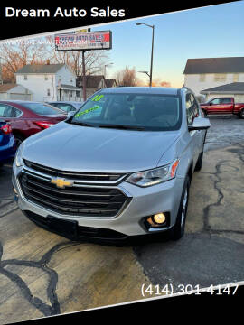 2018 Chevrolet Traverse for sale at Dream Auto Sales in South Milwaukee WI