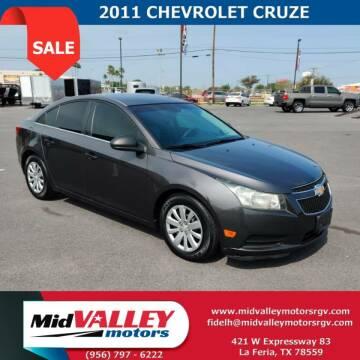 2011 Chevrolet Cruze for sale at Mid Valley Motors in La Feria TX