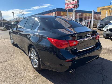 2017 Infiniti Q50 for sale at STS Automotive in Denver CO