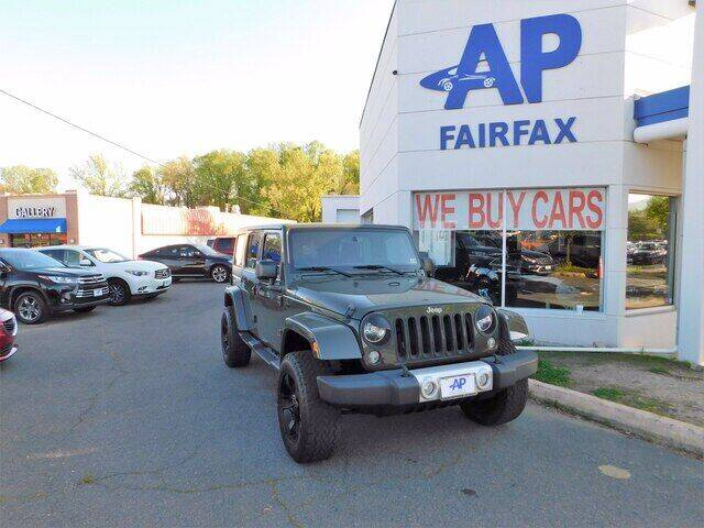 2015 Jeep Wrangler Unlimited for sale at AP Fairfax in Fairfax VA