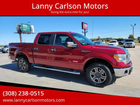 2013 Ford F-150 for sale at Lanny Carlson Motors in Kearney NE