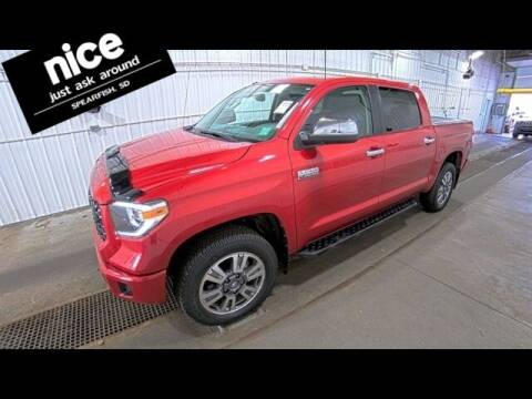 2018 Toyota Tundra for sale at PRESTIGE AUTO SALES in Spearfish SD