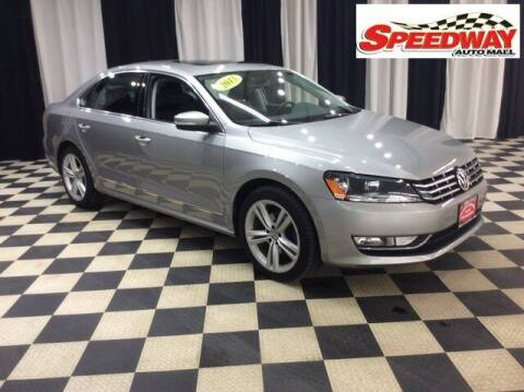 2013 Volkswagen Passat for sale at SPEEDWAY AUTO MALL INC in Machesney Park IL
