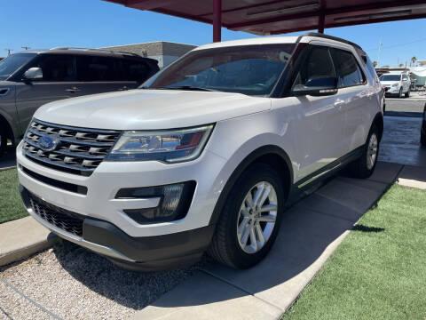 2016 Ford Explorer for sale at DESANTIAGO AUTO SALES in Yuma AZ