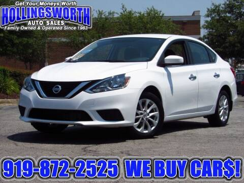 2018 Nissan Sentra for sale at Hollingsworth Auto Sales in Raleigh NC