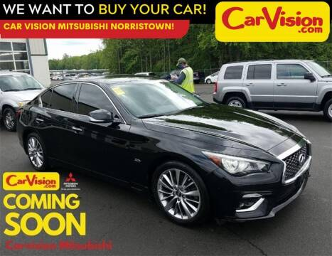 2018 Infiniti Q50 for sale at Car Vision Mitsubishi Norristown in Norristown PA