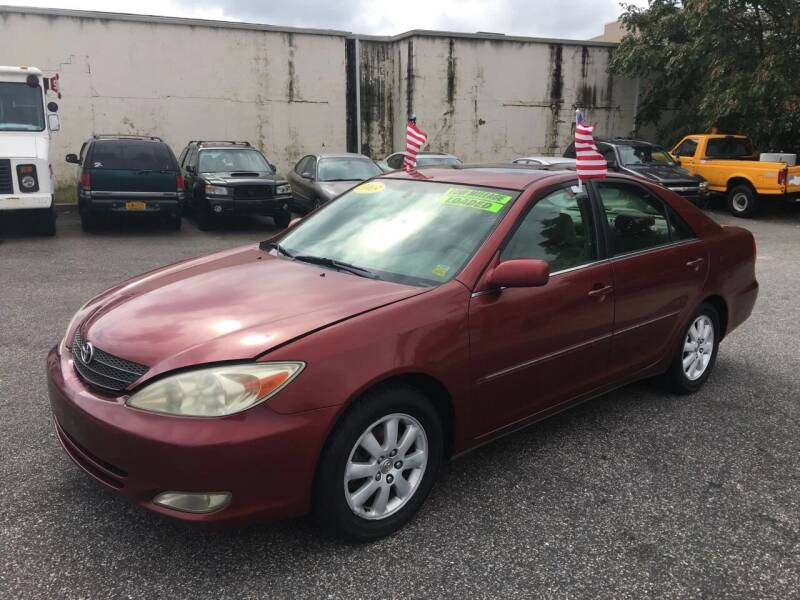 2003 Toyota Camry for sale at 1020 Route 109 Auto Sales in Lindenhurst NY