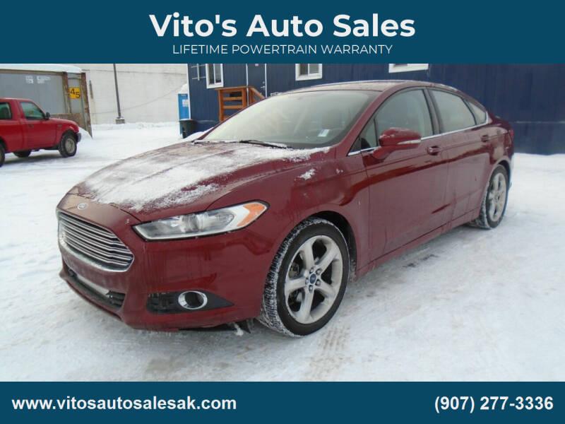 2014 Ford Fusion for sale at Vito's Auto Sales in Anchorage AK