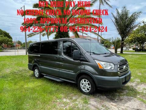 2016 Ford Transit Passenger for sale at Transcontinental Car USA Corp in Fort Lauderdale FL