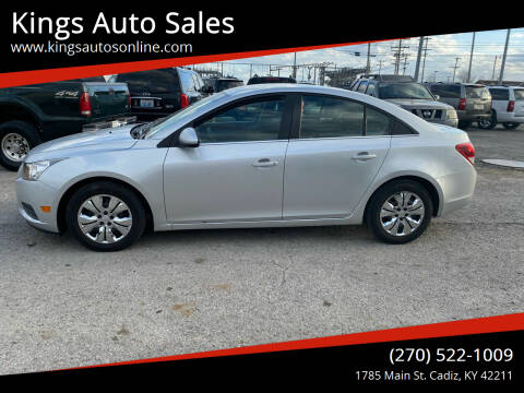 2011 Chevrolet Cruze for sale at Kings Auto Sales in Cadiz KY