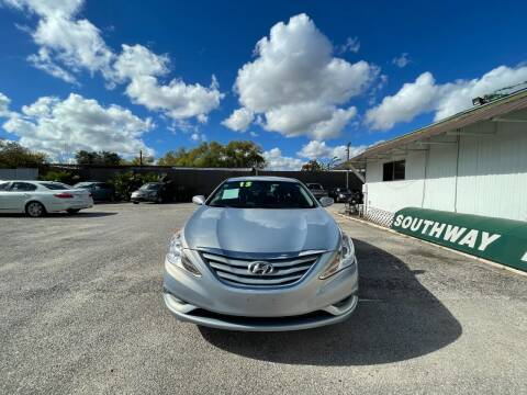 2013 Hyundai Sonata for sale at SOUTHWAY MOTORS in Houston TX