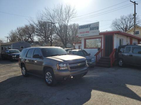 2012 Chevrolet Tahoe for sale at Crosby Auto LLC in Kansas City MO