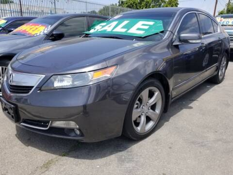 2013 Acura TL for sale at Ournextcar/Ramirez Auto Sales in Downey CA
