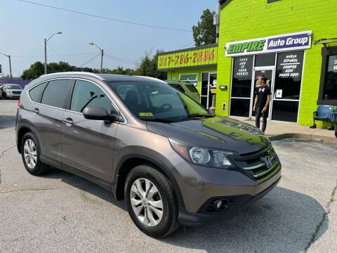 2012 Honda CR-V for sale at Empire Auto Group in Indianapolis IN