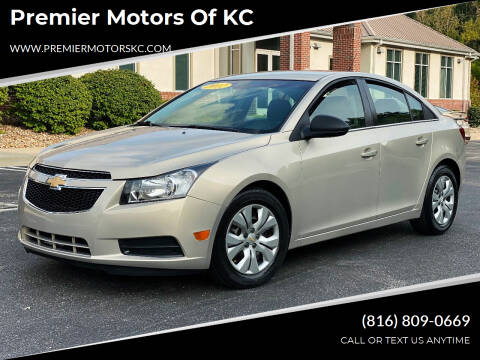 2012 Chevrolet Cruze for sale at Premier Motors of KC in Kansas City MO