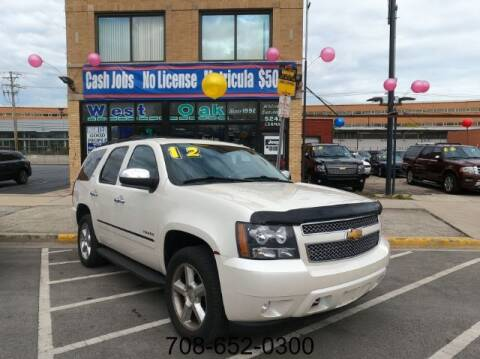 2012 Chevrolet Tahoe for sale at West Oak in Chicago IL