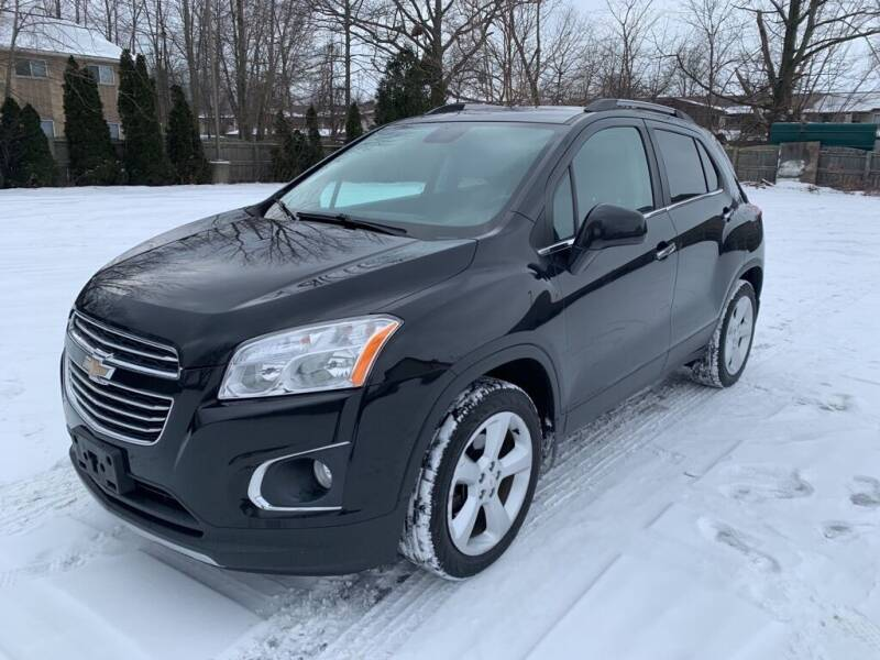 2015 Chevrolet Trax for sale at TKP Auto Sales in Eastlake OH