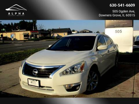 2015 Nissan Altima for sale at Alpha Luxury Motors in Downers Grove IL