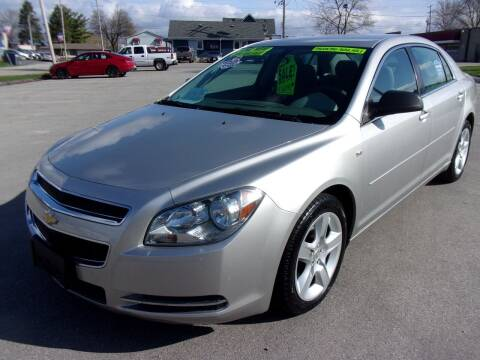 2008 Chevrolet Malibu for sale at Ideal Auto Sales, Inc. in Waukesha WI