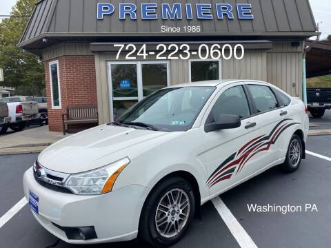 2010 Ford Focus for sale at Premiere Auto Sales in Washington PA