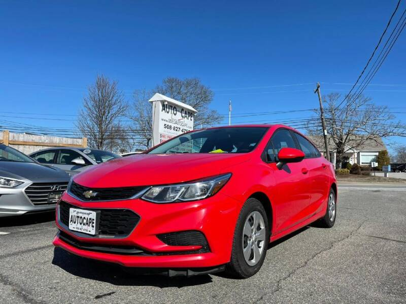 2017 Chevrolet Cruze for sale at Auto Cape in Hyannis MA
