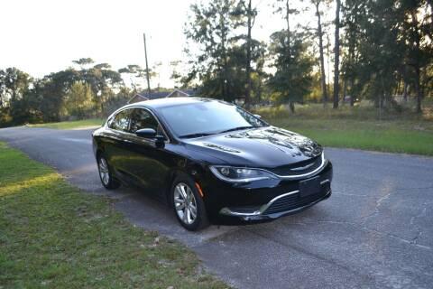 2015 Chrysler 200 for sale at Car Bazaar in Pensacola FL