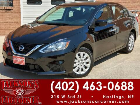 2019 Nissan Sentra for sale at Jacksons Car Corner Inc in Hastings NE
