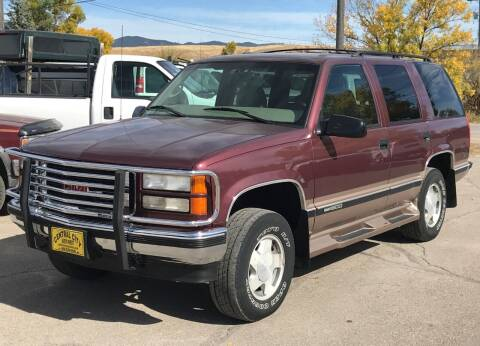 1997 GMC Yukon for sale at Central City Auto West in Lewistown MT